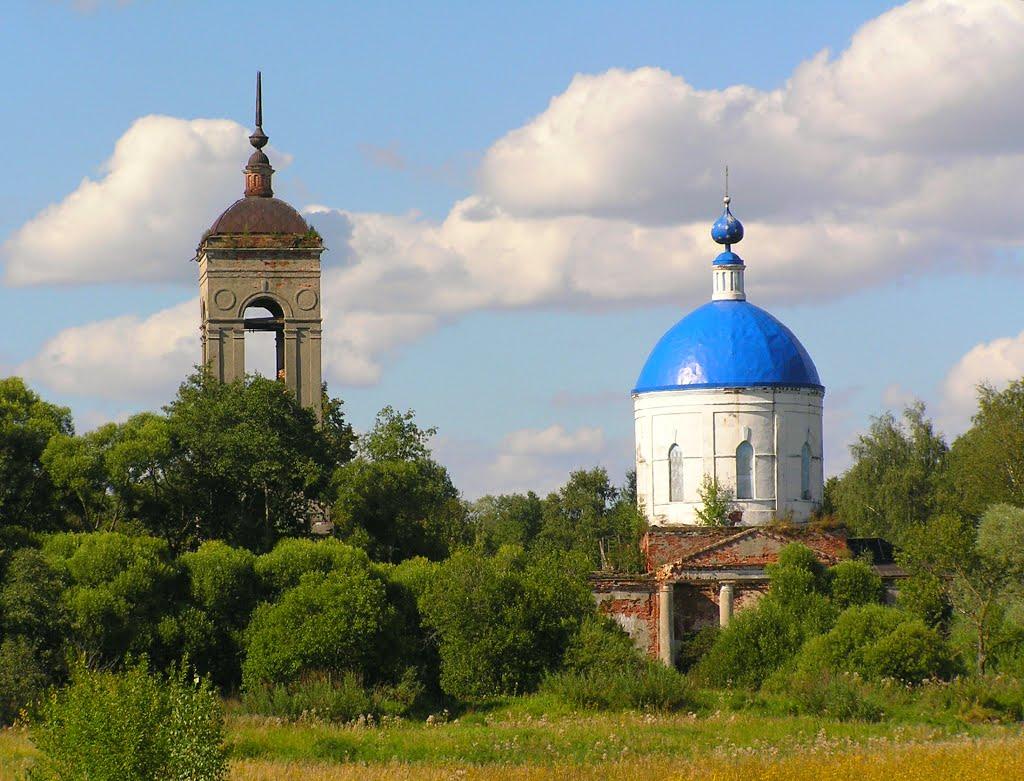 Урочище Николо-Перевоз. Церковь Николая Чудотворца на Никольском погосте.
